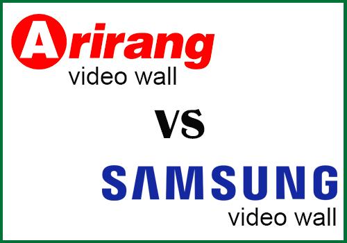 So sánh màn hình ghép Arirang và Samsung