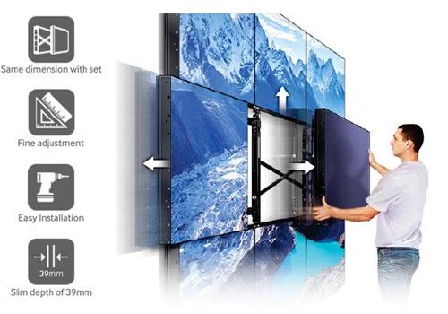 Hướng dẫn lắp đặt màn hình ghép chi tiết từ khảo sát đến hoàn thiện