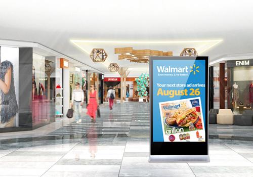 Tìm hiểu về các tính năng của màn hình quảng cáo dạng đứng