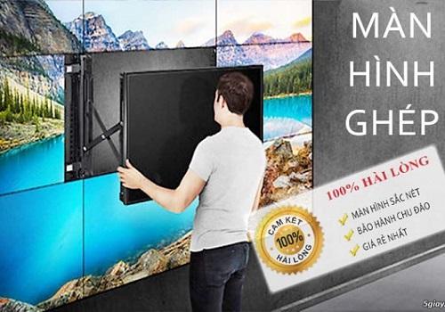 Lắp đặt màn hình ghép an toàn và đúng tiêu chuẩn