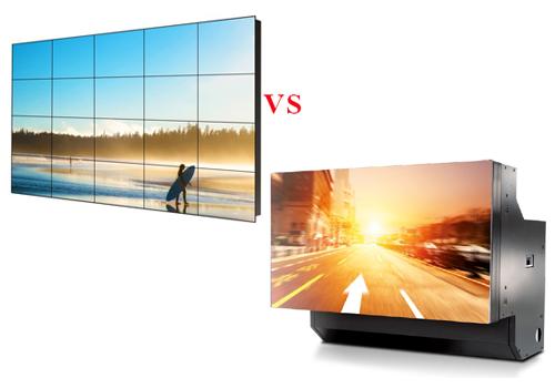 Màn hình ghép LCD và khối chiếu sau – Công nghệ nào là tốt nhất?