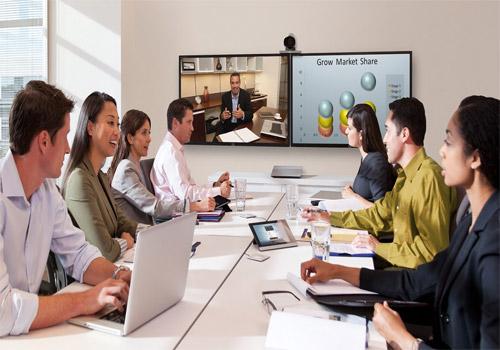 Ứng dụng màn hình ghép trong họp trực tuyến