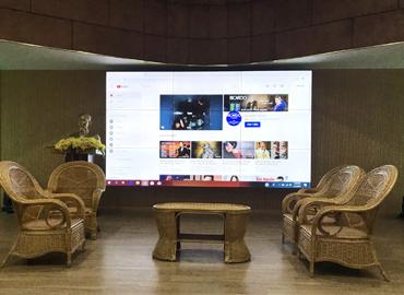 Mẫu giải pháp màn hình ghép cho Cung văn hóa Thanh thiếu nhi Quảng Ninh