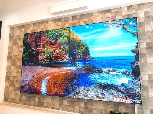 Video wall arirang ar55p4n vivid colors